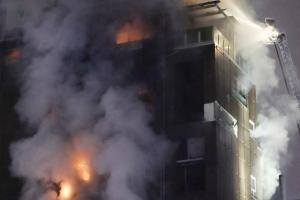 '제천 화재 참사' 사우나 세신사·카운터 직원 등 4명 불구속