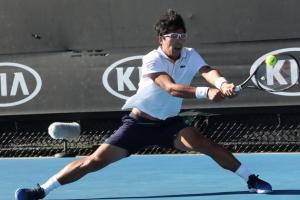 정현, 즈베레프는 없다 .. 호주오픈 테니스 1회전 통과