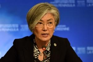 [포토] 밴쿠버 외교장관회의 참석한 강경화 장관