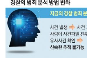 과학수사 새 해결사 AI… 숨어있는 범죄흔적 찾는다