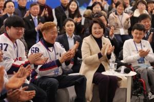 """김정숙 여사, 패럴림픽 입장권 구매…""""북한 처음 참가 의미 커"""""""