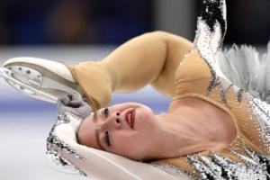 15세 샛별 자기토바, 메드베데바 꺾고 유럽피겨선수권 쇼트 1위