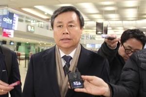 남북 '평창 회의' 대표단 3시간 간격으로 스위스 입성