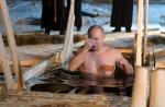 푸틴, 반라로 얼음물에 '…