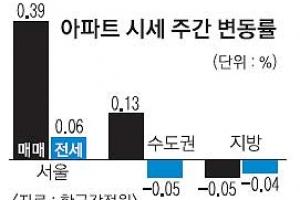 서울 강세 지속… 강남ㆍ강북 온도차 뚜렷