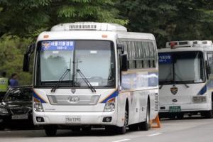 미세먼지 대책 '열외'인 경찰버스…모두 먼지 내뿜는 경유차