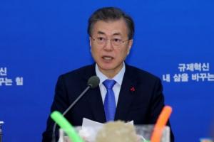 문 대통령-민주 원내대표단 오늘 오찬…2월국회 민생법안 논의