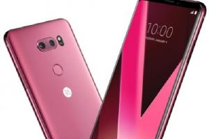 유혹의 색 '라즈베리 로즈' 입은 LG V30…오늘 출시