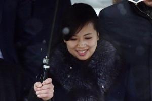 [포토] '위풍당당 현송월' 눈처럼 환한 미소