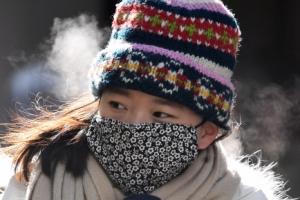 [서울포토] 추위에 대처하는 가지각색의 방법