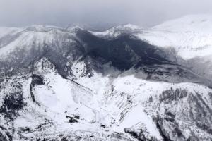 [서울포토] 일본 화산 분화로 스키장 이용객 등 부상