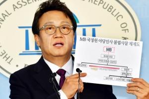"""""""MB 국정원, 대북공작금으로 야당 정치인 사찰"""""""