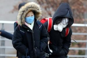 [포토] 가장 추운 날 개학, 이불 속이 그리워