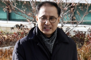 [서울포토] MB 조카 이동형 다스 부사장, 검찰 출석