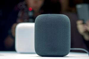 애플 첫 AI스피커 '홈팟'…새달 9일 美·英·濠 출시