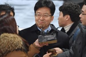 [서울포토] 장석명 전 비서관, 취재진 질문에 '묵묵부답'