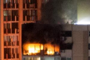 은평 아파트서 화재…1명 사망 2명 중상