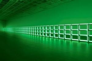 형광등 348개가 만든  '빛의 예술'
