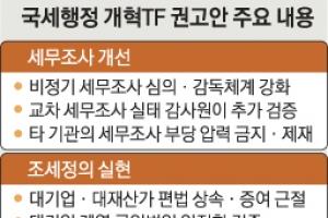감사원에 '교차세무조사' 추가 검증 요청