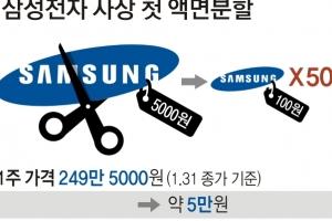 국민株 변신하는 황제株…삼성전자 파격 액면분할