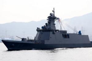 2800t급 차기 호위함 '대구함' 해군 인도