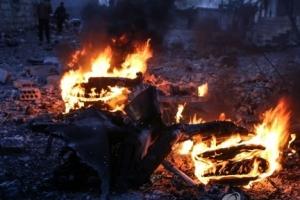 시리아서 러시아 전투기 격추돼 조종사 피살…러, 미사일 보복