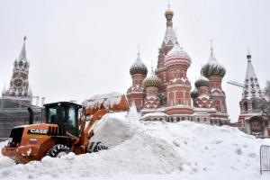 모스크바에 관측 이래 최다 폭설