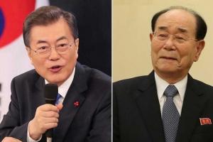 문대통령, 10일 김영남·김여정 접견·오찬…김정은 친서 전달