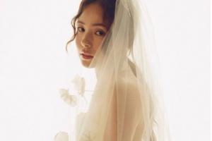 """'태양♥' 민효린, 결혼 소감 """"감사하고 또 감사합니다""""...웨딩 사진 공개"""