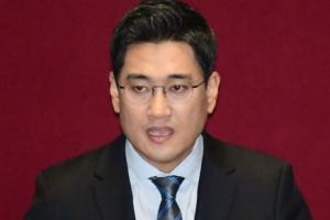 [서울포토] 오신환 원내대표, 비교섭단체 대표연설