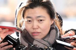 [서울포토] 취재진에 둘러싸인 임은정 검사