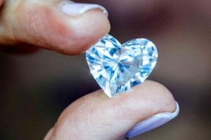 [포토] 국제 다이아몬드 위크, '하트 모양' 다이아몬드까지
