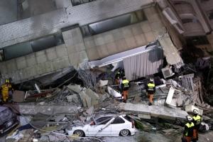 대만 심야 강진…2명 사망·219명 부상·177명 실종 상태