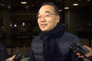 검찰 'MB국정원 특활비 의혹' 박재완 이틀째 고강도 조사