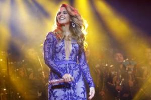 [포토] 열정의 멕시코 가수의 화려한 공연