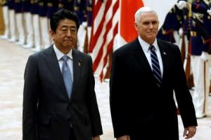 """펜스, 평창서 북측 접촉하나… 백악관 """"지켜보자"""" 긍정 신호"""
