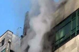 고양 복합상가건물에서 불나…3명 연기흡입 이송