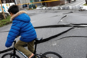 여진 공포에 질린 대만… 또 5.7 지진