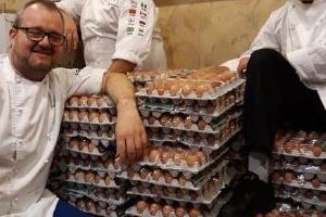 노르웨이 선수단 계란 1500개 주문했는데 정작 배달된 것은 1만 5000개