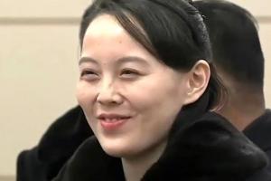 '실세' 김여정, 90살 김영남이 장관 맞은편 자리 권하자