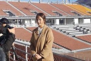 '평창人' 안혜경, 평창올림픽 개막식 앞두고 응원 '기상캐스터 출신 답네~'