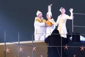 한반도의 두 번째 올림픽 불꽃 김연아가 살랐다