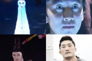 '신스틸러' 평창올림픽 인면조, 이광수vs김동현 닮은꼴 대결...승자는?