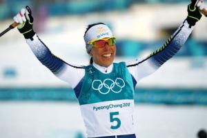 평창 첫 금메달 주인공은 스웨덴 여자 크로스컨트리 칼라