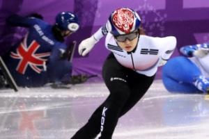 쇼트트랙 최민정 500m 올림픽 신기록 1위로 8강 진출