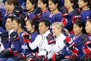 [올림픽] '참패는 잊어라!'…단일팀, 스웨덴전 하루 앞두고 '실전훈련'
