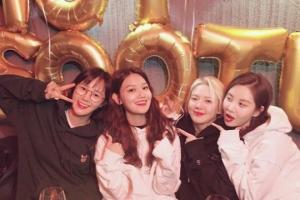 """소녀시대 수영, 29번째 생일파티...소녀시대 멤버들 출동 """"내 사랑들"""""""