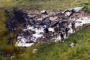 이스라엘, 자국 전투기 격추에 시리아 맹폭