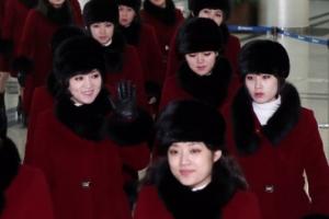 [서울포토] 경의선 육로로 귀환하는 북한 예술단