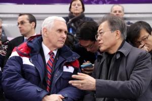 """펜스 """"미국도 북한과 대화 준비…'최대압박과 관여' 동시진행"""""""